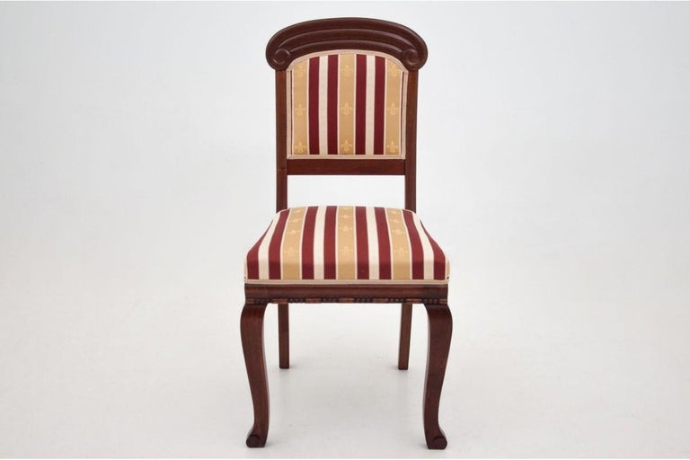 Four Biedermeier Dining Room Chairs For Sale 2