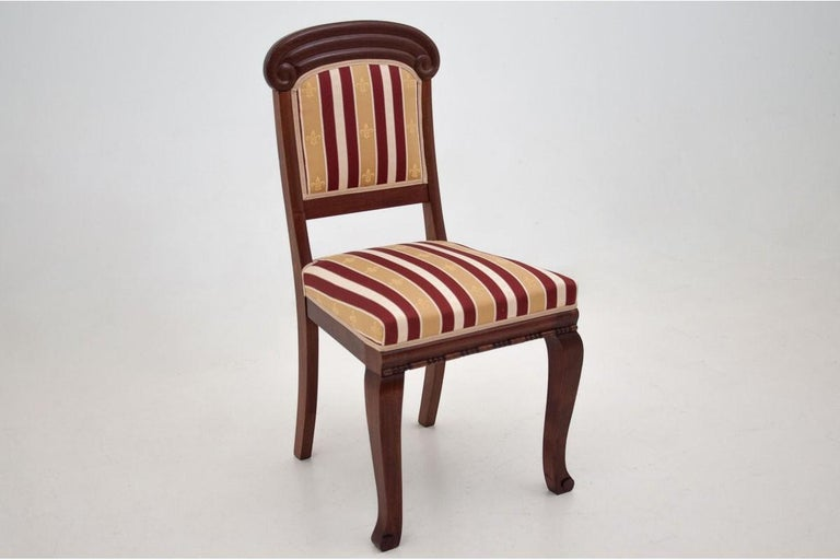 Four Biedermeier Dining Room Chairs For Sale 3