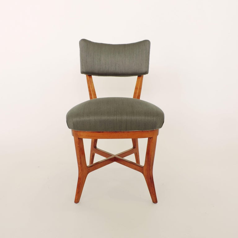 Four Chairs Attributed to Studio BBPR, Italy, 1940s For Sale 3