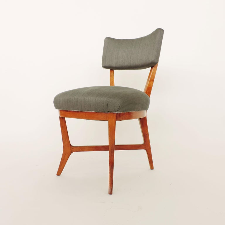 Four chairs attributed to Studio BBPR The structure is identical to the later versions of the Elettra chairs made for Arflex.