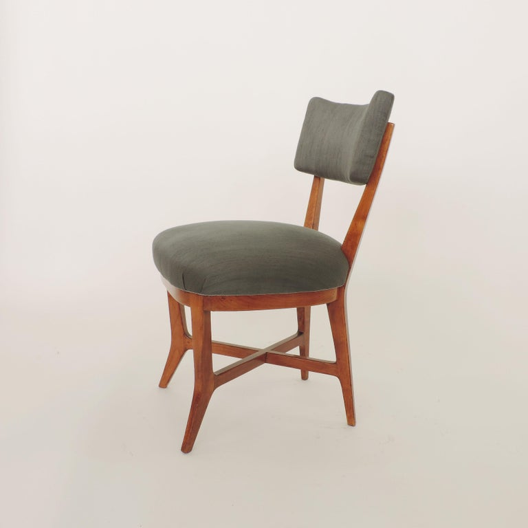 Four Chairs Attributed to Studio BBPR, Italy, 1940s In Good Condition For Sale In Milan, IT