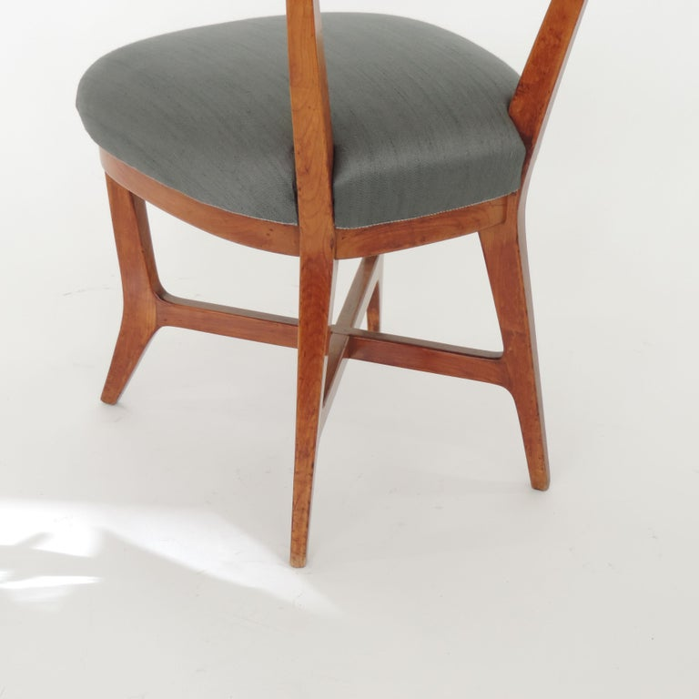 Four Chairs Attributed to Studio BBPR, Italy, 1940s For Sale 1