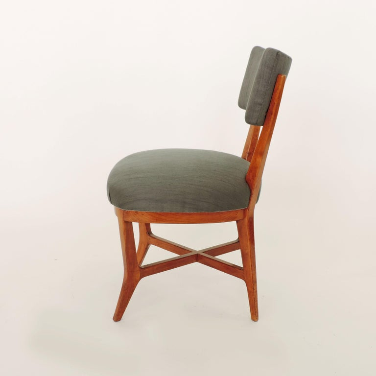 Four Chairs Attributed to Studio BBPR, Italy, 1940s For Sale 2