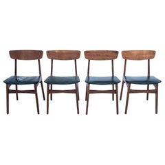 Four Chairs, Danish Design, 1960s