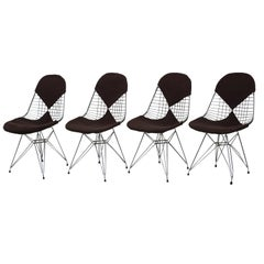 "Four Chairs ""DKR/2 (Wire)"" for Herman Miller - 1950s - Charles & Ray Eames"