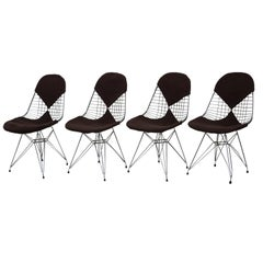 "Four Chairs ""DKR/2 Wire"" for Herman Miller, 1950s, Charles & Ray Eames"