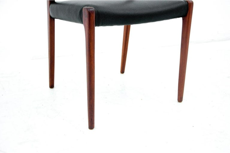 Four Chairs, Niels O. Møller, Denmark, 1960s For Sale 1