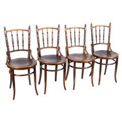 Four Chairs Thonet Nr.232