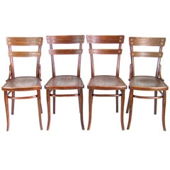 Four Chairs Thonet Nr.651, Since 1907