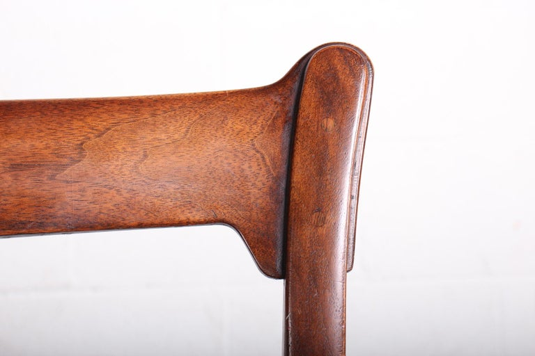 Four Dining Chairs by Edward Wormley for Dunbar For Sale 1