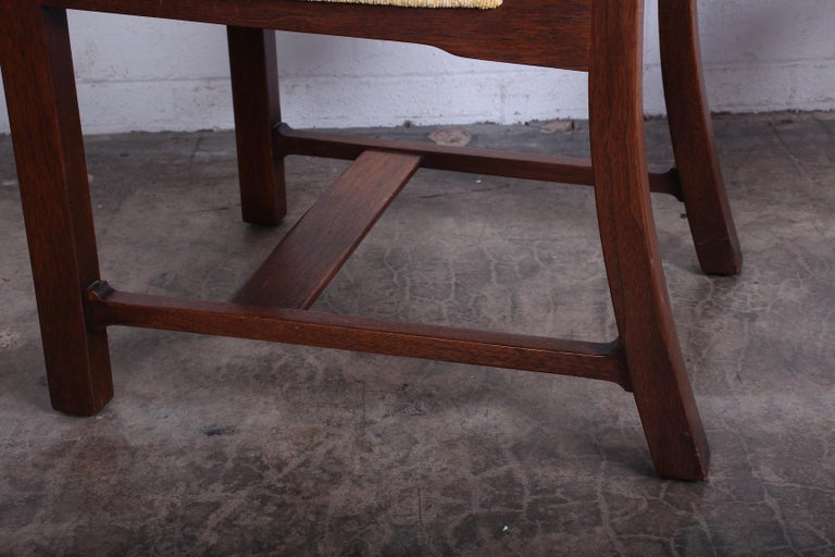 Four Dining Chairs by Edward Wormley for Dunbar For Sale 4