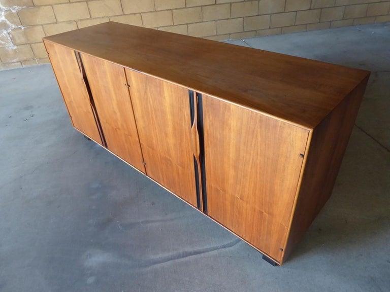 American Four-Door Cabinet Designed by John Kapel for Glenn of California For Sale