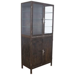 Four Door Polished Industrial Cabinet