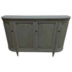 Four-Door Swedish Gustavian Sideboard