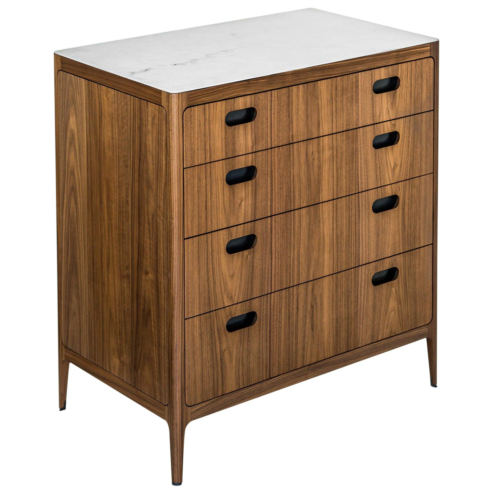 Four-Drawer Dresser from Munson Furniture in Walnut