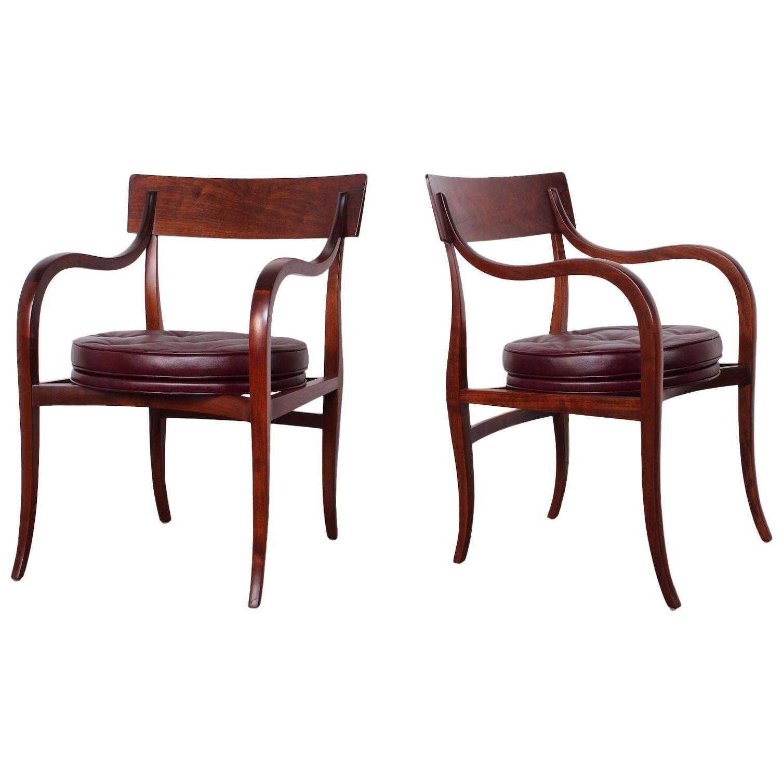 Four Dunbar Alexandria Chairs by Edward Wormley