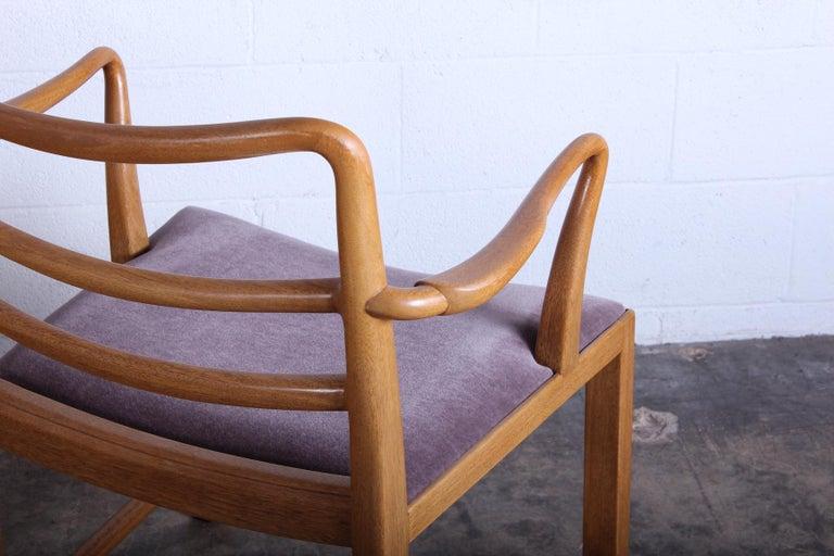 Four Dunbar Armchairs by Edward Wormley For Sale 1