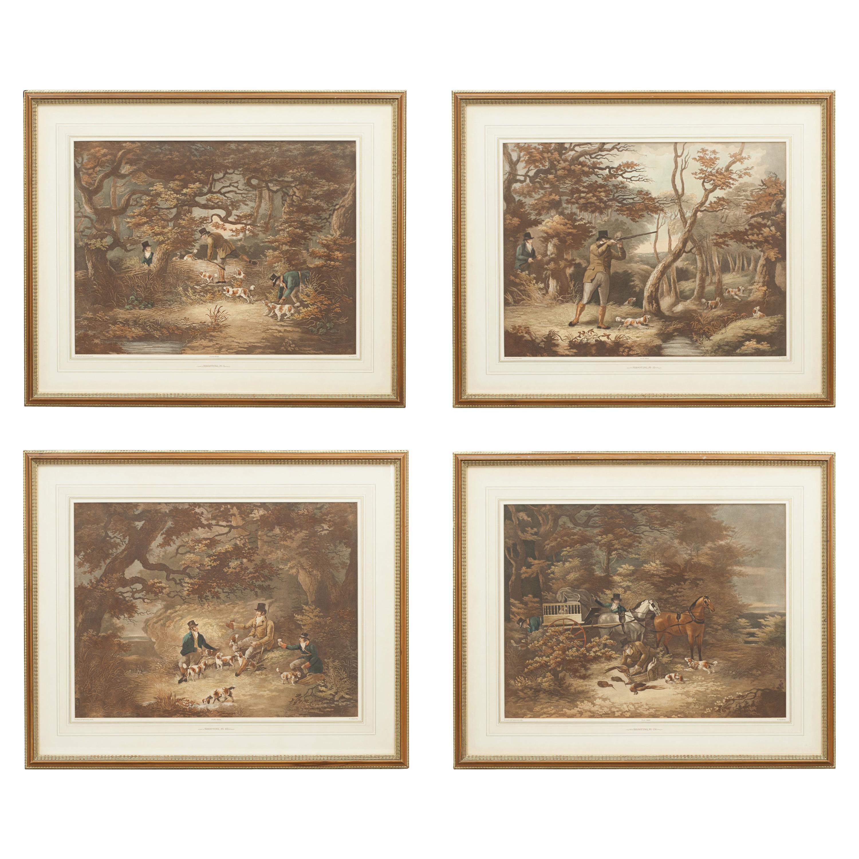 Four Early Shooting Prints by D. Wolstenholme