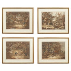 Four Early Shooting Prints by D. Wolstenholme