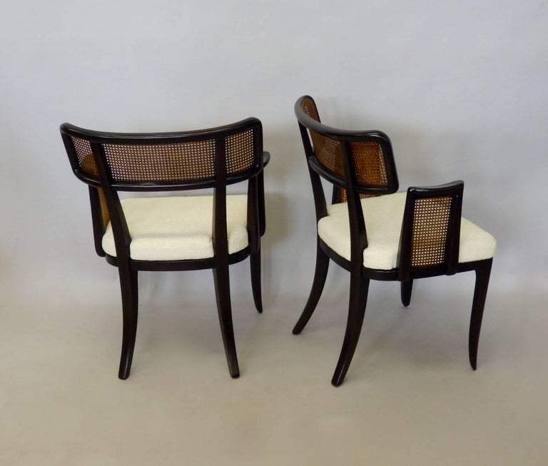 American Four Edward Wormley for Dunbar Dining Chairs For Sale