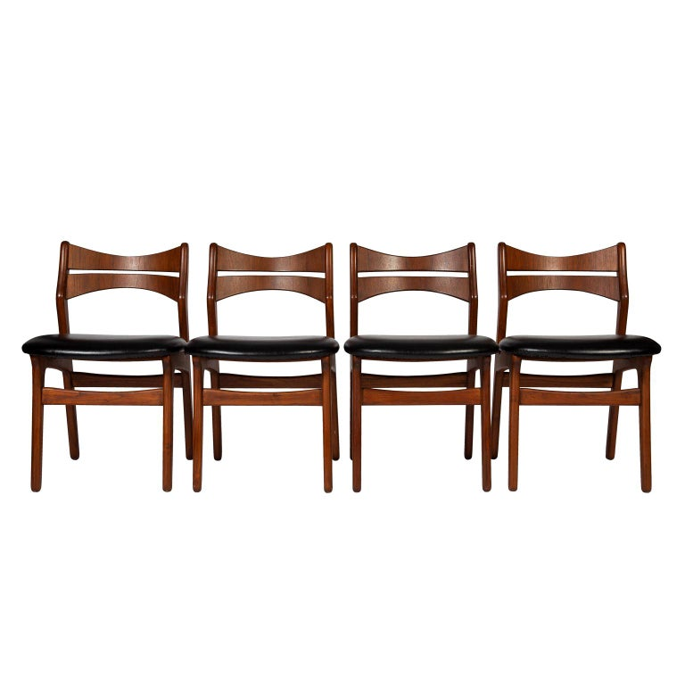 Phenomenal Four Erik Buck Dining Chairs Ocoug Best Dining Table And Chair Ideas Images Ocougorg