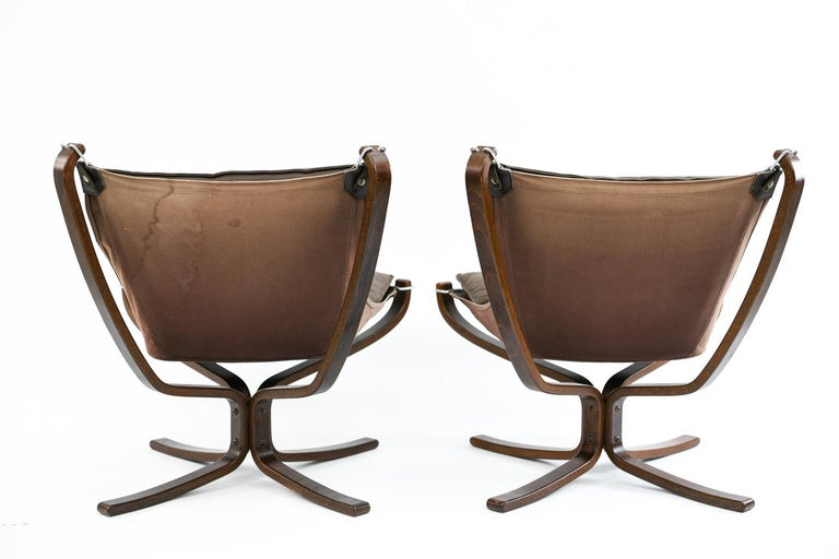 Four Falcon Chairs by Sigurd Ressell for Vatne Møbler For Sale 9