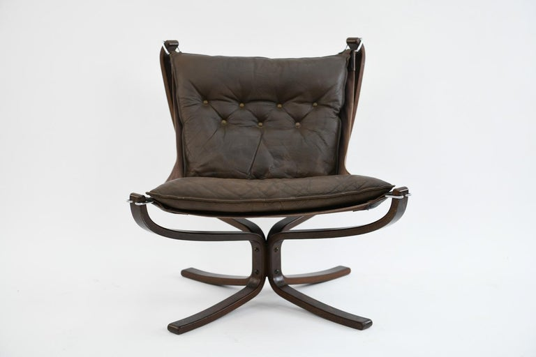 Four Falcon Chairs by Sigurd Ressell for Vatne Møbler For Sale 12