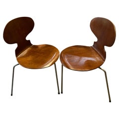 Four First Edition Ant Chairs by Arne Jacobsen for Fritz Hansen