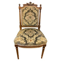 Four French Carved Chairs