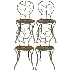 Four Garden Chairs by Jean-Michel Frank, 1895-1941