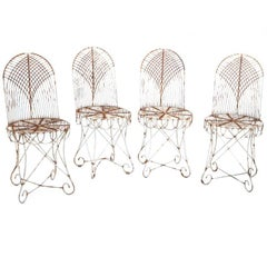 Four Garden Chairs, Early 20th Century