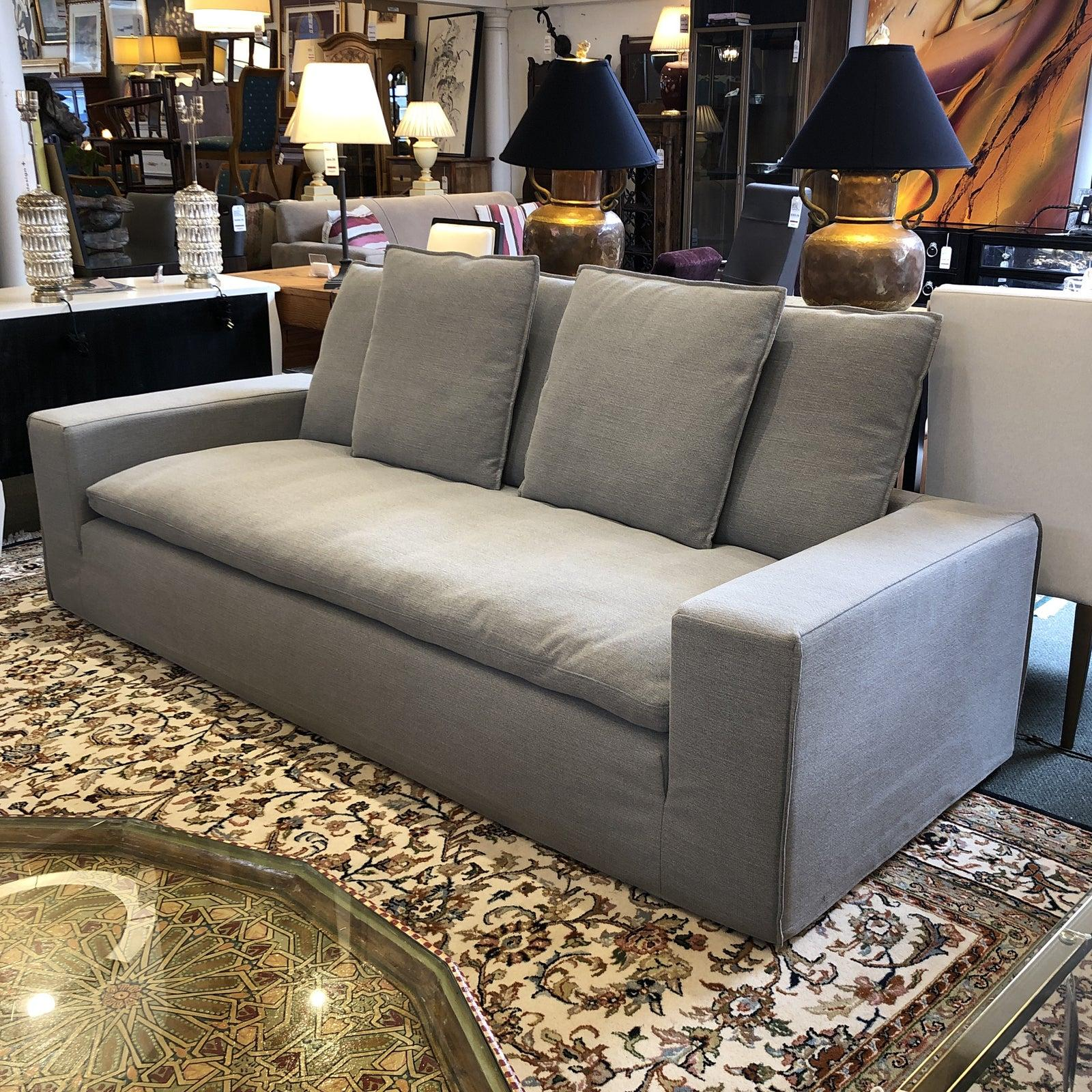 Stupendous Four Hands Contemporary Gray Sofa And Chaise For Sale At 1Stdibs Camellatalisay Diy Chair Ideas Camellatalisaycom