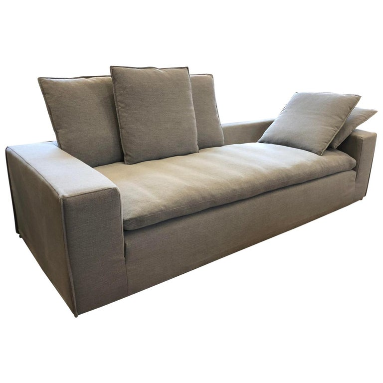 Astounding Four Hands Contemporary Gray Sofa And Chaise For Sale At 1Stdibs Camellatalisay Diy Chair Ideas Camellatalisaycom