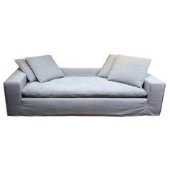 Four Hands Contemporary Gray Sofa+Chaise
