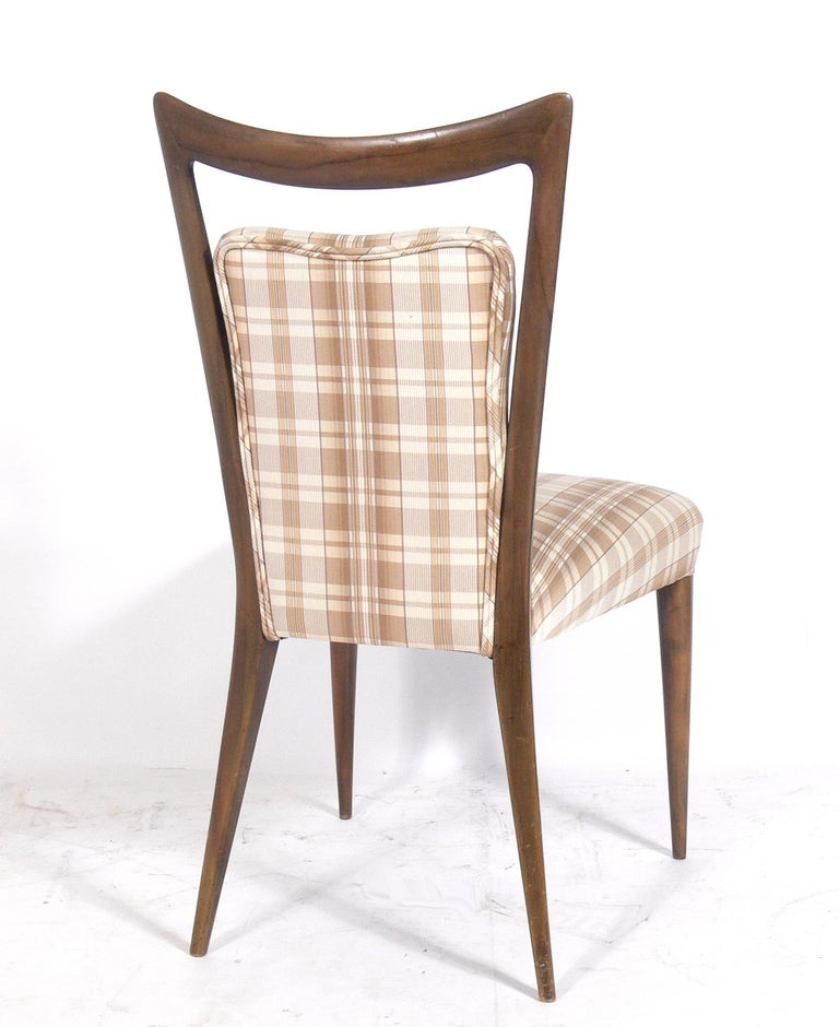 Four Italian Dining Chairs by Melchiorre Bega In Good Condition In Atlanta, GA