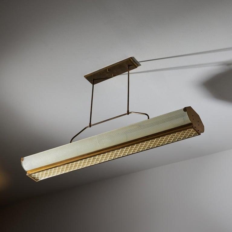 Three Italian Mfg. Custom Ceiling Lights For Sale 4