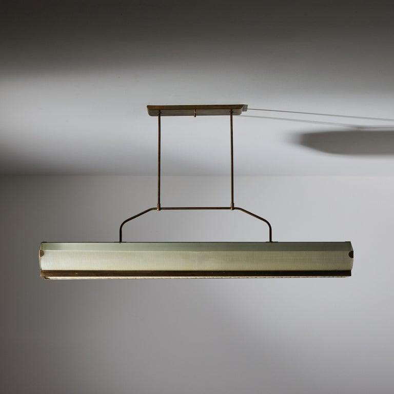 Three Italian Mfg. Custom Ceiling Lights For Sale 6