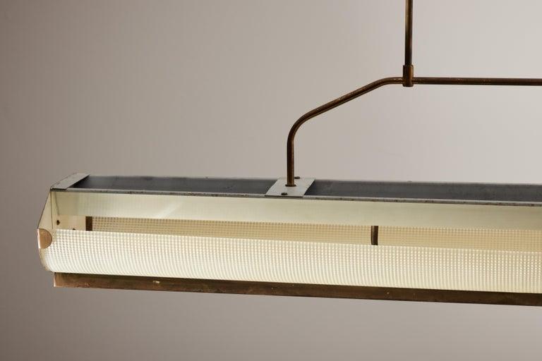 Three Italian Mfg. Custom Ceiling Lights For Sale 8