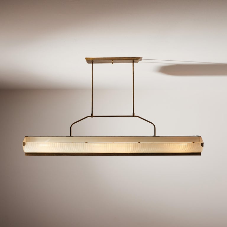 Three Italian Mfg. Custom Ceiling Lights In Good Condition For Sale In Los Angeles, CA