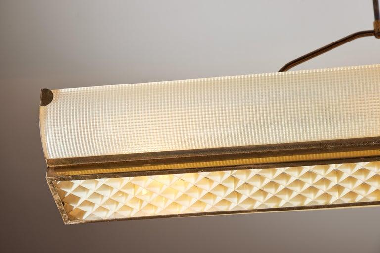 Three Italian Mfg. Custom Ceiling Lights For Sale 1