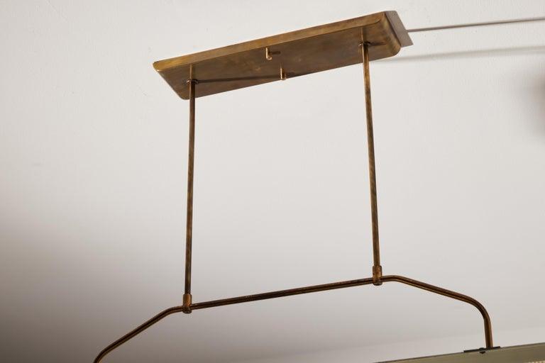 Three Italian Mfg. Custom Ceiling Lights For Sale 2