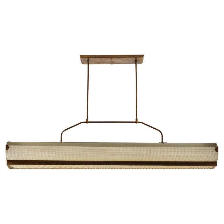Three Italian Mfg. Custom Ceiling Lights For Sale