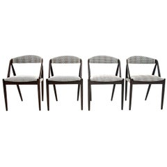 Four Kai Kristiansen Model 31 Teak Dining Room Chairs