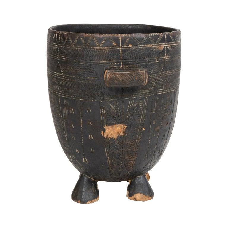Four-Legged Tribal Vessel For Sale