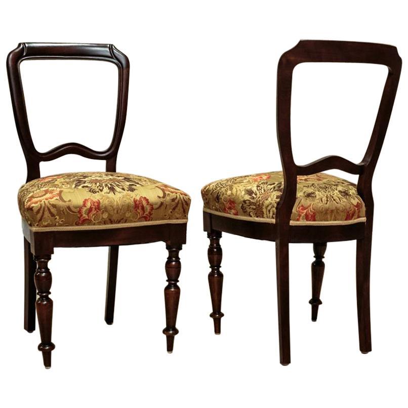 Four Mahogany Chairs, circa 1930