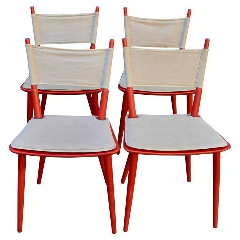 Set of Four Danish Jørgen Bækmark Dining Chairs, Mid-Century Modern In Good Condition For Sale In Haddonfield, NJ