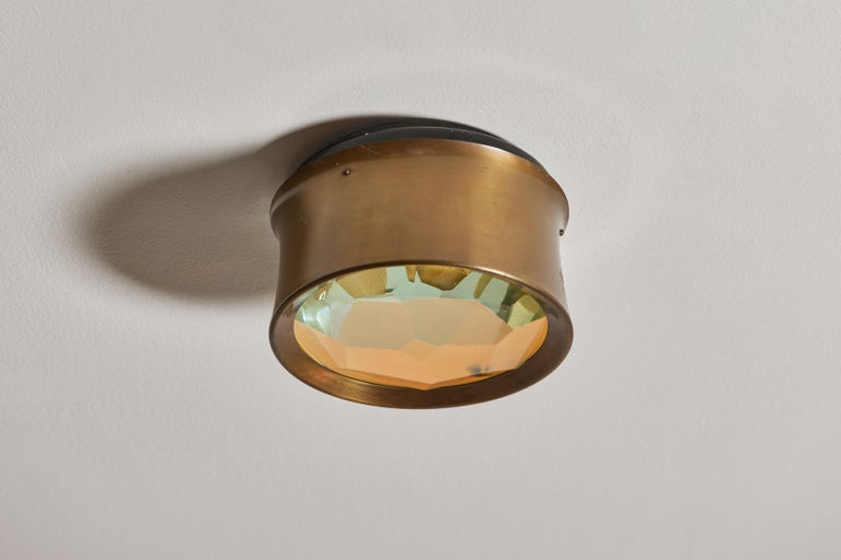 Mid-20th Century Four Model 2319 Wall/ Ceiling Lights by Max Ingrand for Fontana Arte For Sale