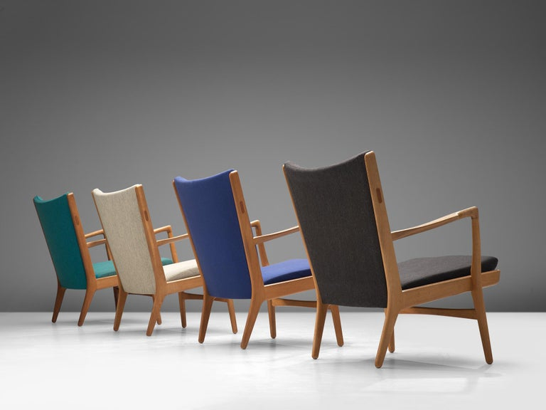 Danish Four of  'AP-16' Lounge Chairs by Hans J. Wegner For Sale