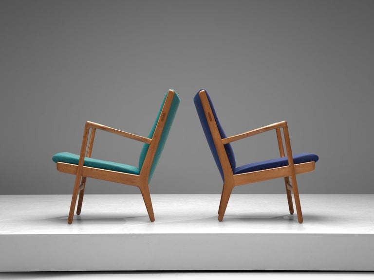 Mid-20th Century Four of  'AP-16' Lounge Chairs by Hans J. Wegner For Sale