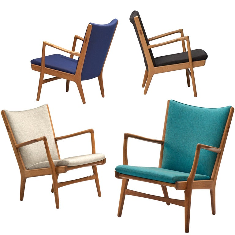 Four of  'AP-16' Lounge Chairs by Hans J. Wegner For Sale